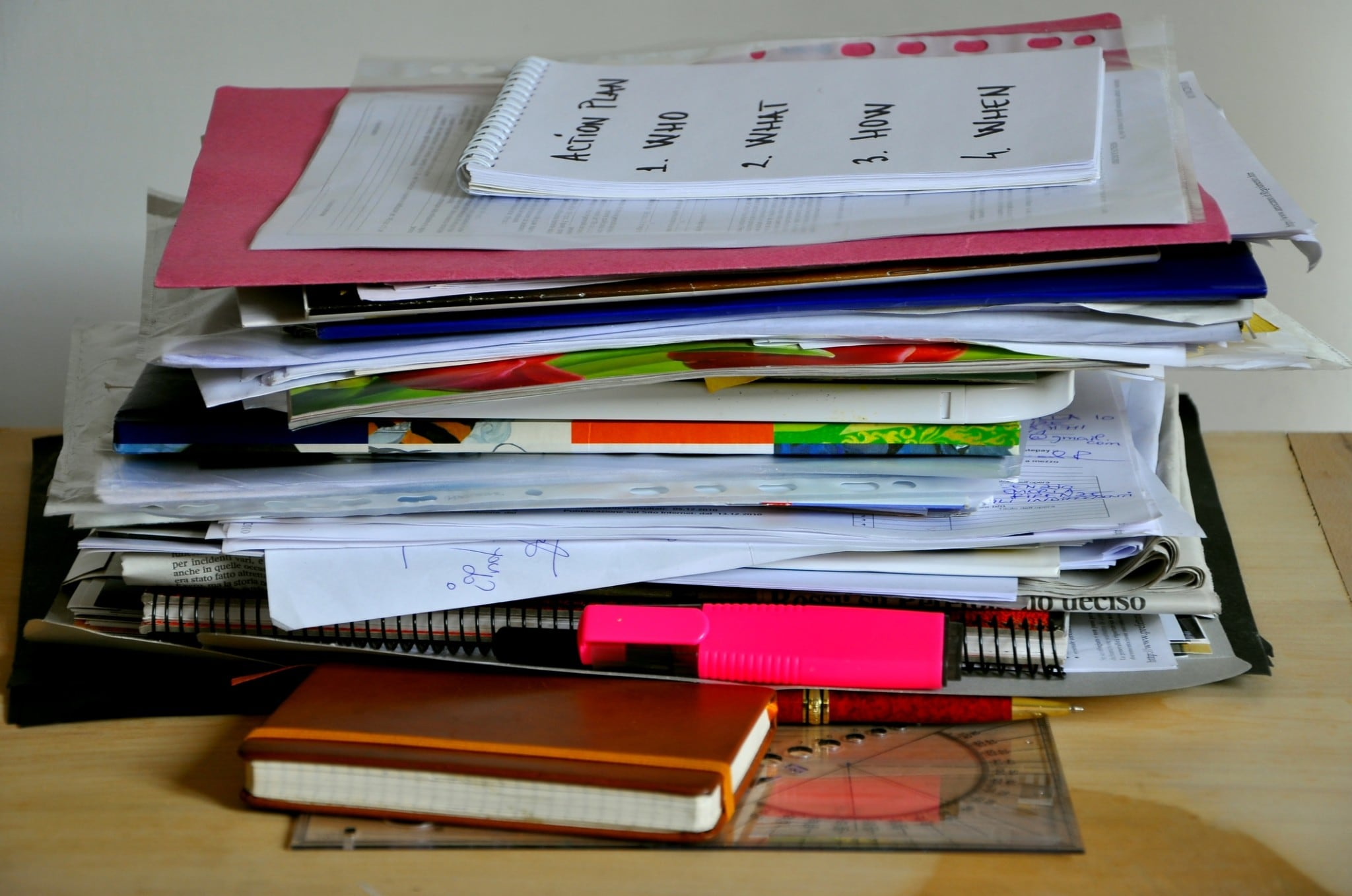 Don't Let Paper Organizing Scare You!