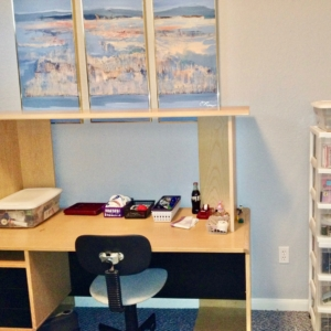 Home office by organizers in Galveston