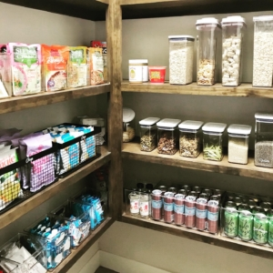 Pantry organization by organizers in Tomball, Texas