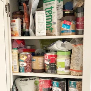 Tiny Pantry Before Organizing