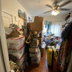 Storage Room Before Organizing
