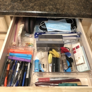 Junk drawer organized