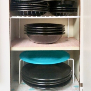 Dishes organized by organizers in Humble, Texas