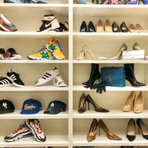 Boutique closet styling