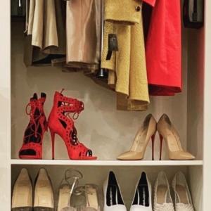 Pretty closet organizing fun