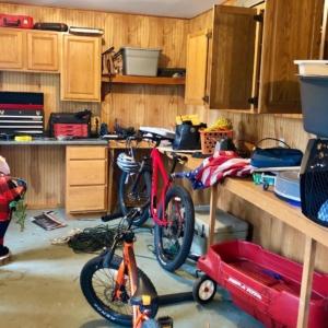 Before organizing shed