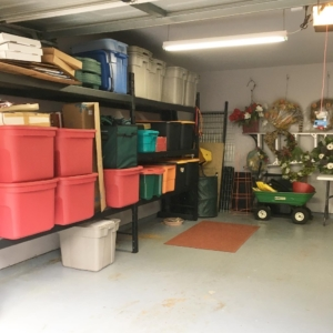 After garage organizing in Houston, Texas