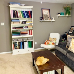 Living room organized