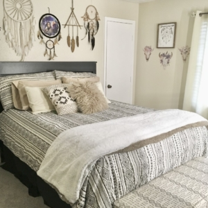 After bedroom organization