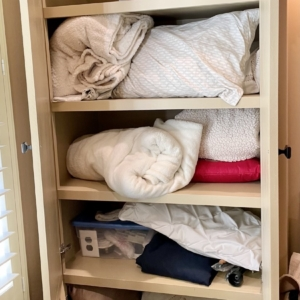 Before some home organization in Tanglewood