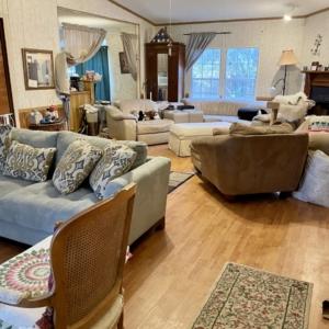After living room organization